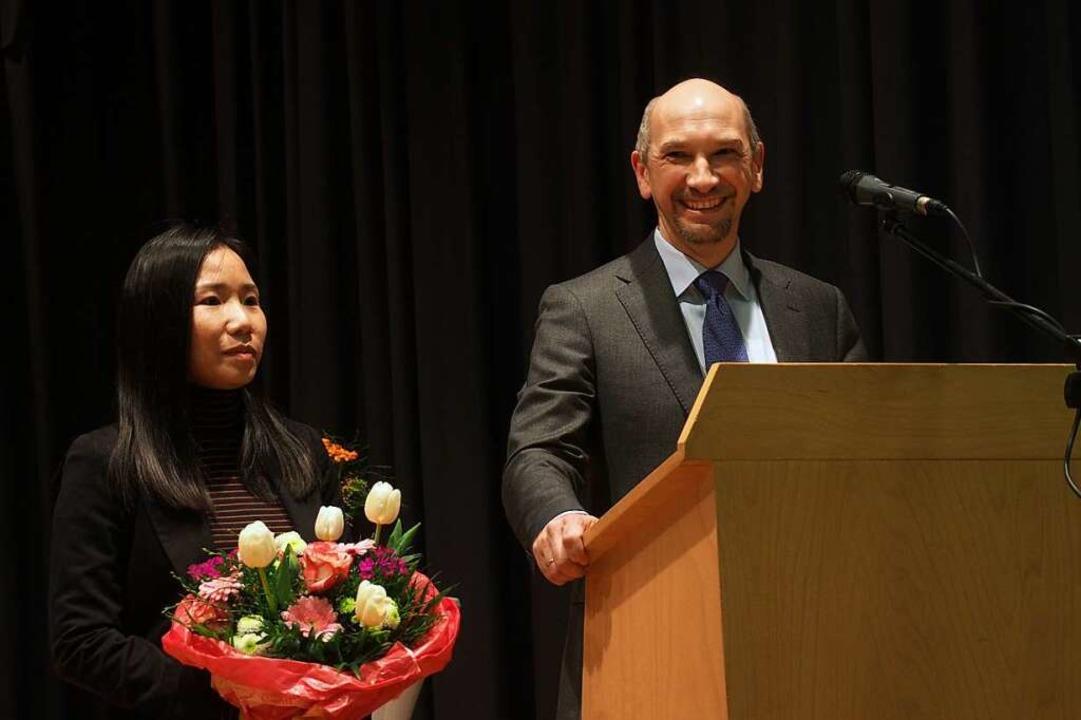 Ralf Kaiser und seine Frau Mai.  | Foto: Markus Donner