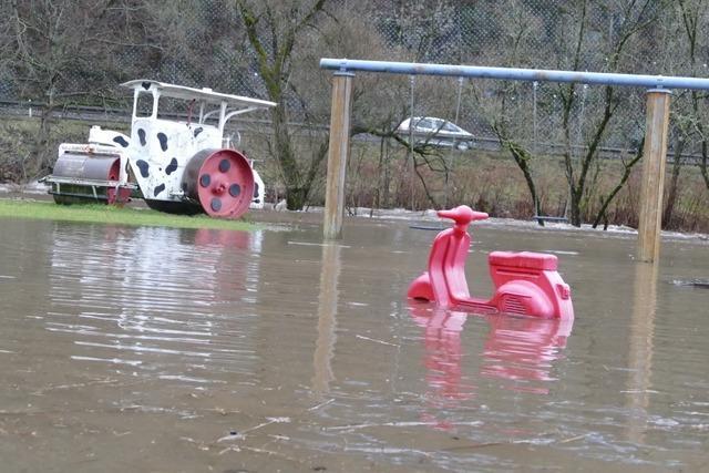 Schwere Regenfälle im Oberen Wiesental hinterlassen Schäden