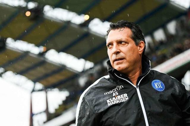 Karlsruher SC trennt sich von Trainer Schwartz – Co-Trainer übernimmt