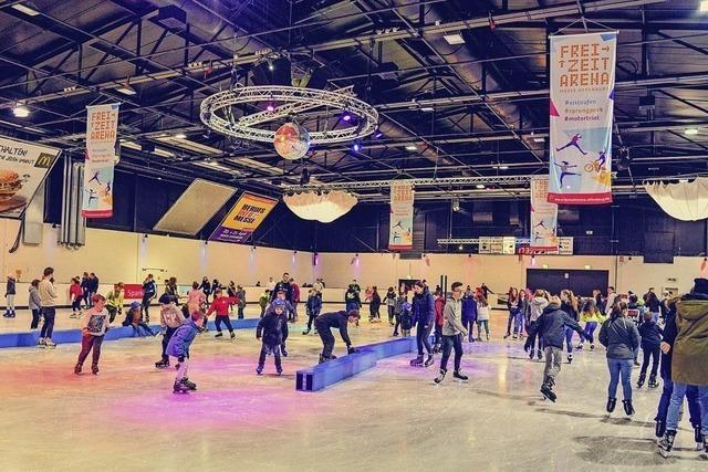 Ticktes für die Eislaufhalle in Offenburg zu gewinnen