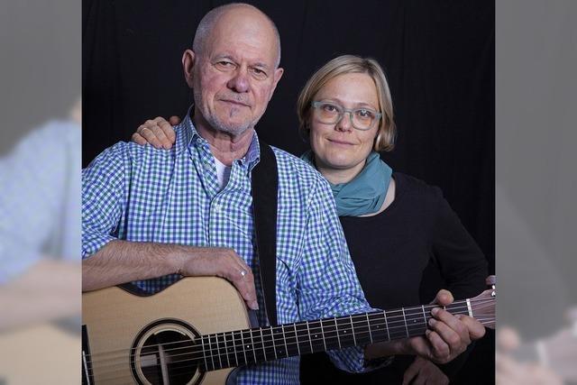 Ulrike Derndinger und Heinz Siebold in Müllheim