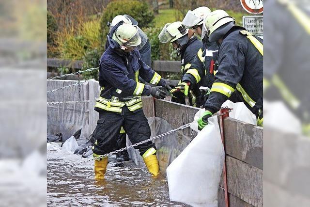 Hochwasseralarm ohne Schäden