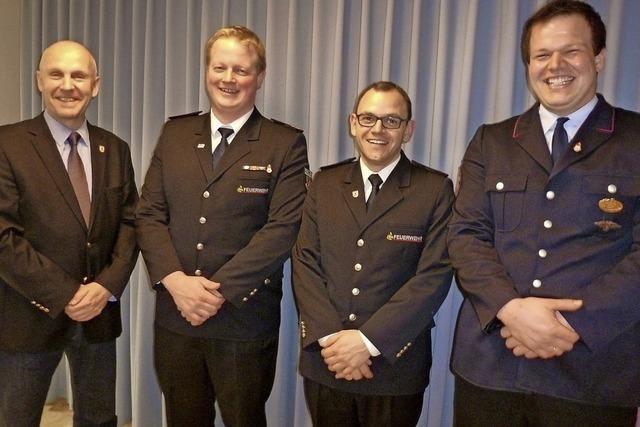 Münstertals Feuerwehr hat eine neue Spitze