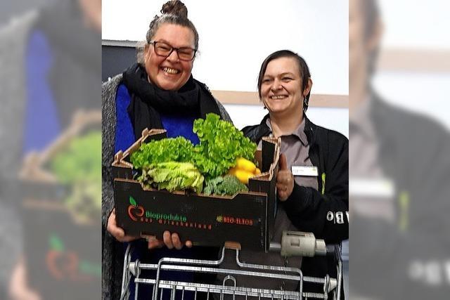 Damit das Gemüse nicht im Müll landet