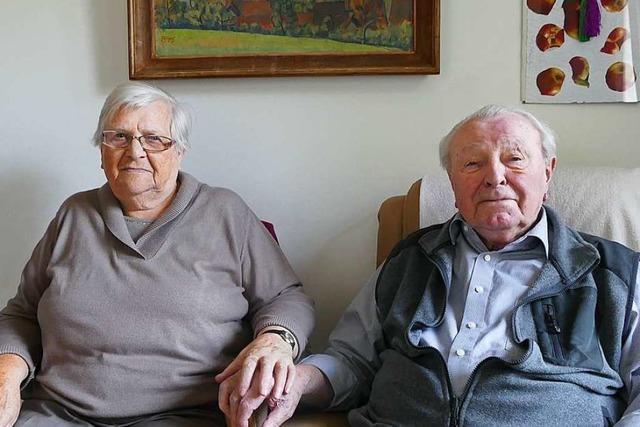 Schopfheimer Ehepaar feiert Gnadenhochzeit