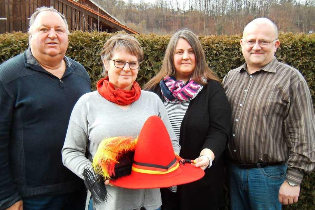 Das neue SPD-Organisationsteam für die...aitz, Tina Wunderle und André Langbein  | Foto: Ernst Brugger