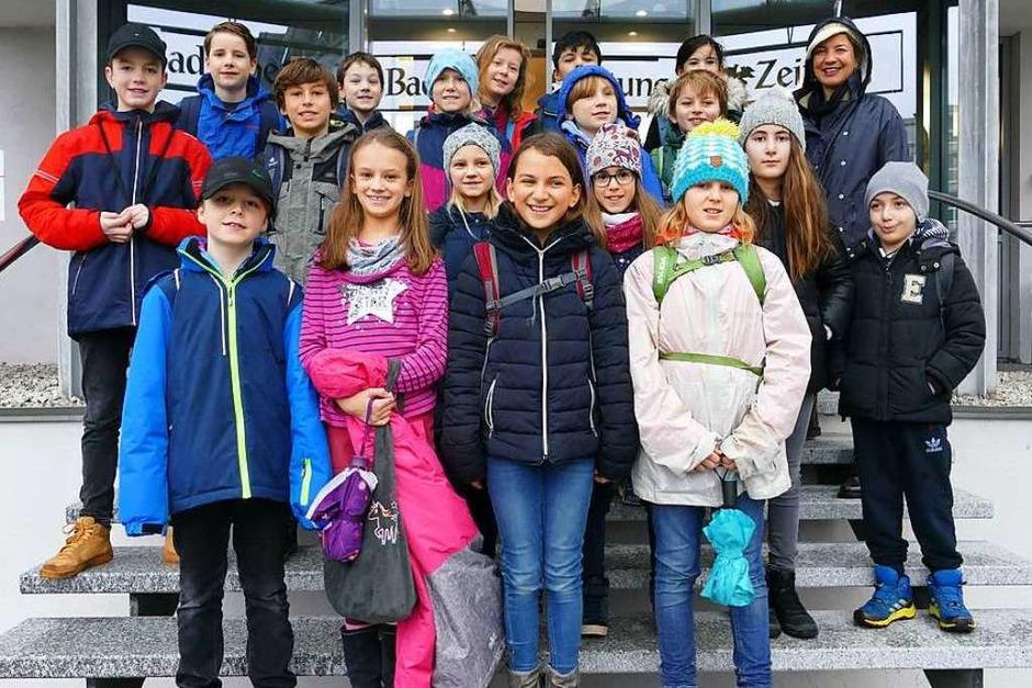 Klasse 4b, Turnseeschule Freiburg (Foto: Maren Melcher)