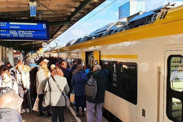 Land: Region ist mitverantwortlich für den Zustand der Breisgau-S-Bahn