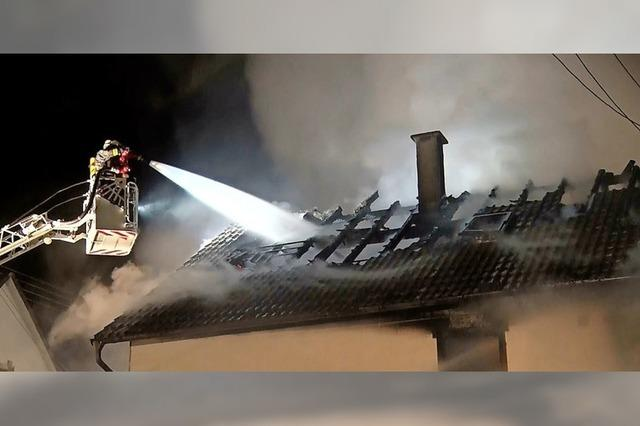 Großbrände fordern die Wehr
