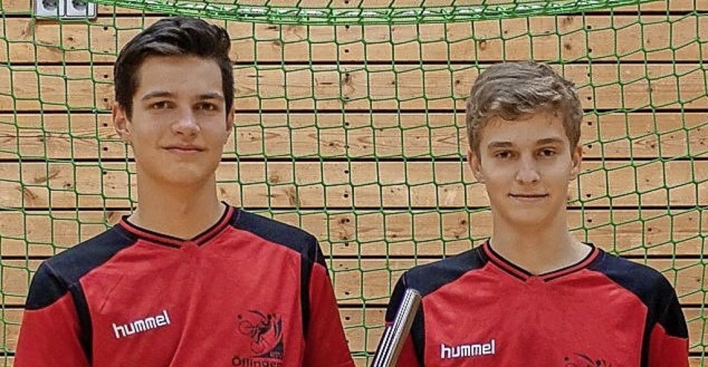 Zwei Heimturniere: Moritz Schubach (li... Woche später in der EM-Qualifikation.  | Foto: Privat