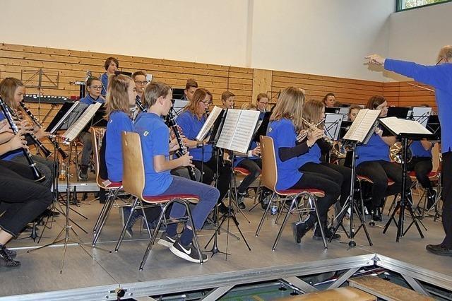 Musikverein Oberhof ist mit guter Jugendarbeit auf dem richtigen Weg