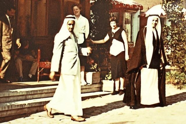 Selbst aus Saudi-Arabien reisten die Gäste an