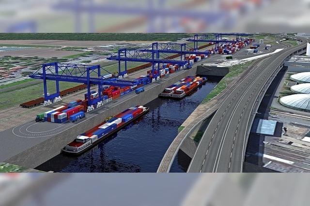 Häfen sehen neues Containerterminal weiter auf Kurs