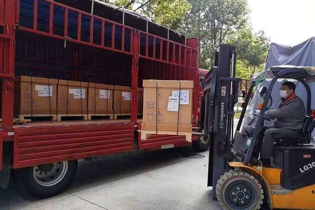 Pumpen aus Maulburg reinigen in den Kliniken in Wuhan die Luft