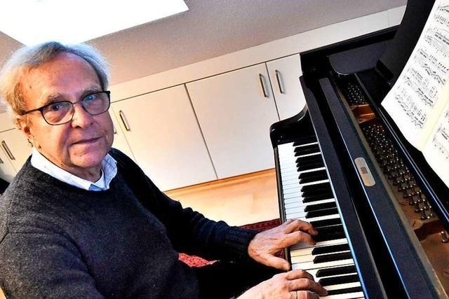 Pianist Michael Leuschner hat auch nach Jahrzehnten noch Lampenfieber