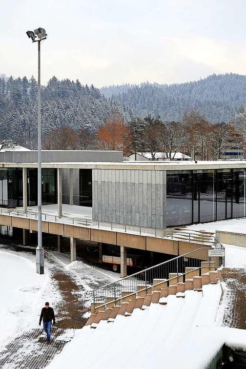 Hier am Olympiastützpunkt trainieren r..., in dem es in Freiburg geschneit hat.  | Foto: Thomas Kunz