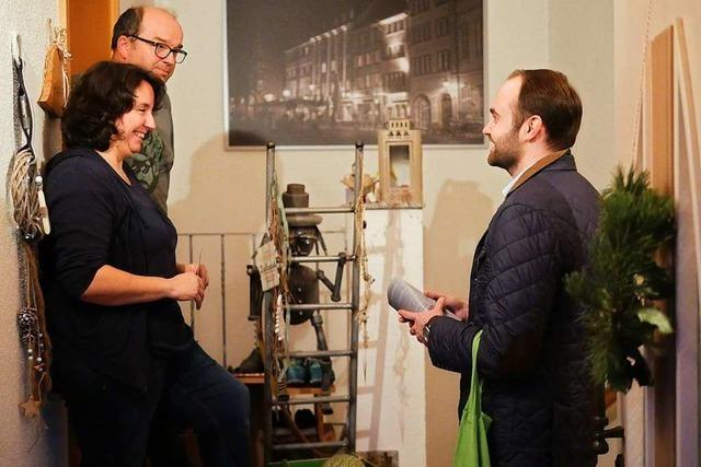 Schallstadts Bürgermeisterkandidat Sebastian Kiss setzt auf Hausbesuche