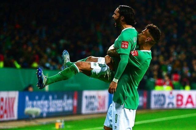 Frankfurt, Düsseldorf, Bremen und Schalke im DFB-Pokal-Viertelfinale