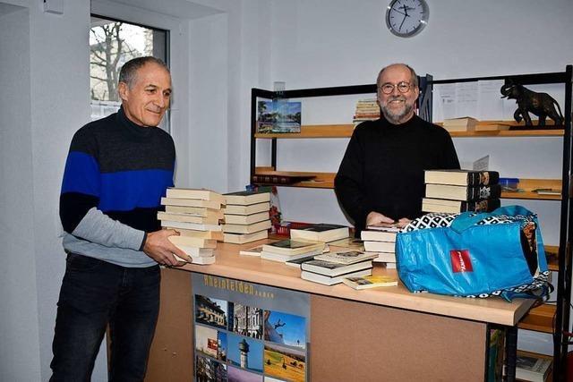 3000 Bücher warten im Rheinfelder Büchertausch auf Abnehmer
