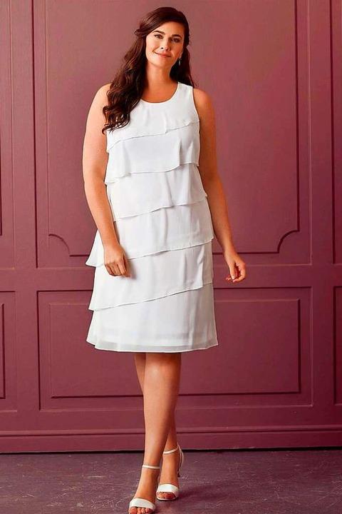 Bein zeigen mit Midi-Kleidern    Foto: Lilly Brautmode