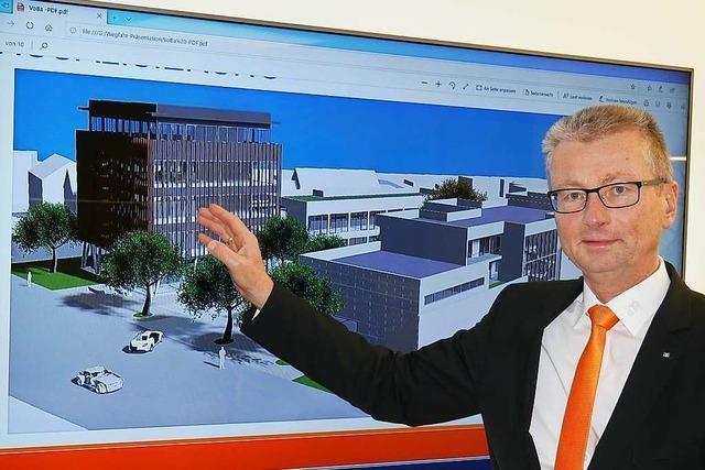 Die Volksbank will in Bad Säckingen an der Friedrichstraße ein neues Stadtquartier entwickeln