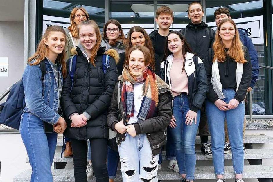 Klasse 9a, Kreisgymnasium Bad Krozingen (Foto: Maren Melcher)