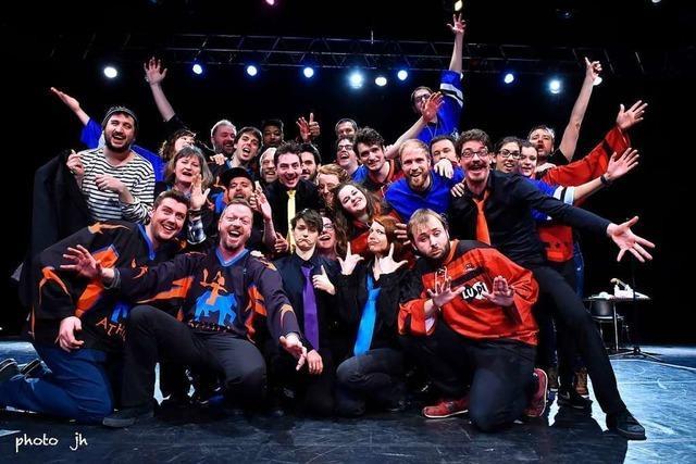 Fest'Impro in Saint-Louis mit vier Ensembles aus drei Ländern