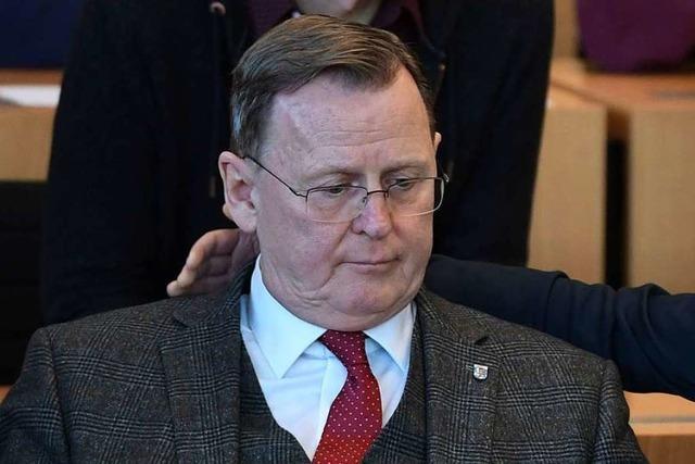 Bodo Ramelow: Jähes Ende einer erstaunlichen politischen Karriere