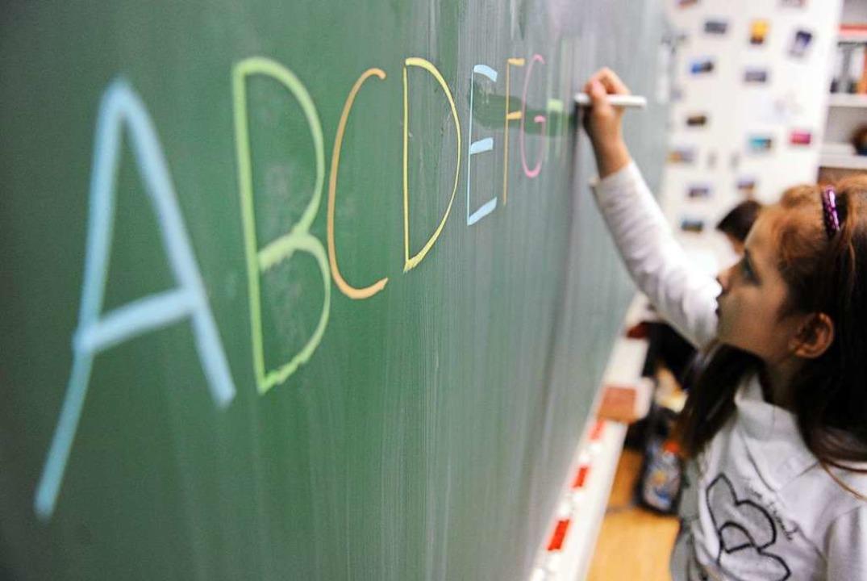 Rechtschreibung ist ein wichtiger Bestandteil des Deutschunterrichts.  | Foto: Daniel Reinhardt