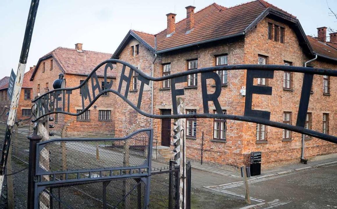 Im Konzentrationslager von Auschwitz w... die Juden eingesperrt und umgebracht.    Foto: Kay Nietfeld (dpa)