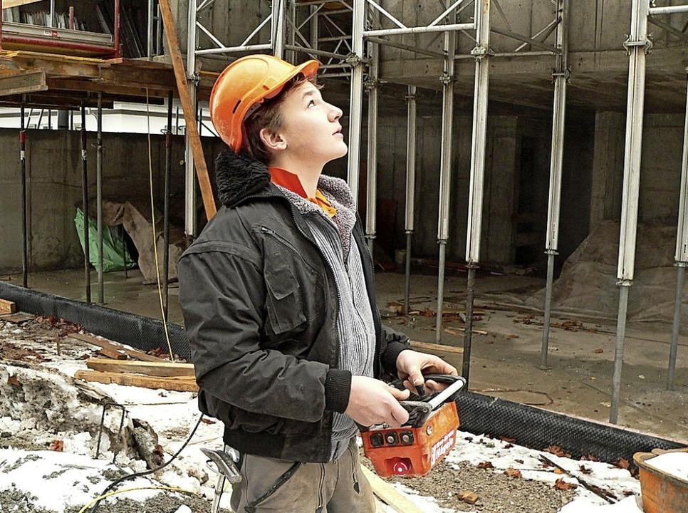 Alles im Blick, alles im Griff: die Ba...ucht Berufsnachwuchs auf allen Ebenen.  | Foto: Bauwirtschaft Baden-Württemberg