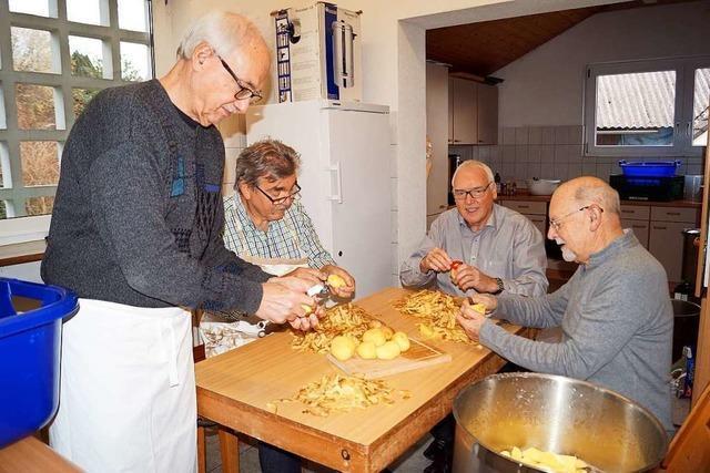 In Kandern kochen Rentner für andere Rentner