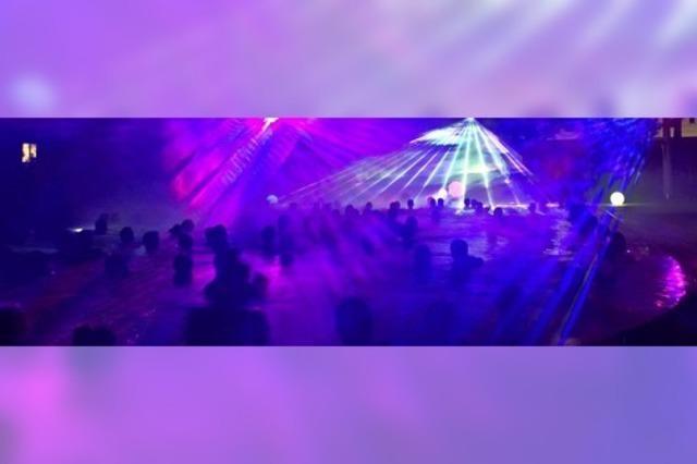 Noch zwei Tage gibt es Lichter- und Feuerspektakel in der Vita Classica
