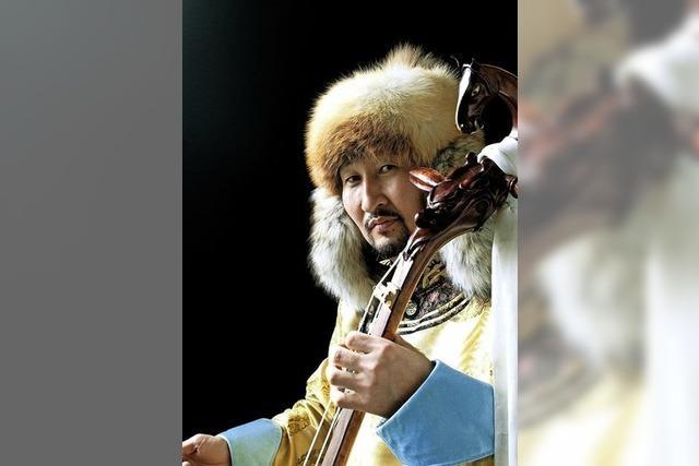 Enkhjargal bringt mongolische Musik mit westlichen Anklängen in den Salmen