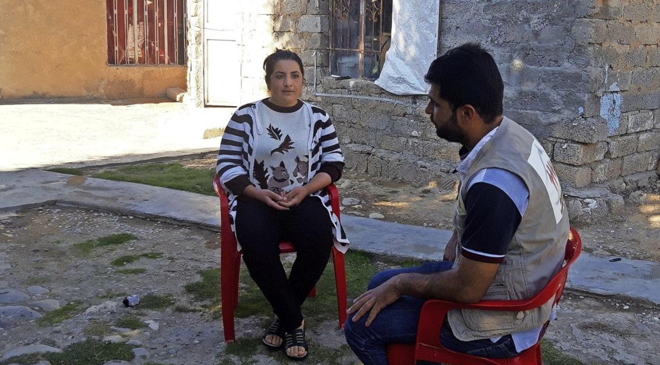 In kleinen Gesprächsgruppen geht es da...für hat Zarok  5000 Euro eingesetzt.    | Foto: Zarok