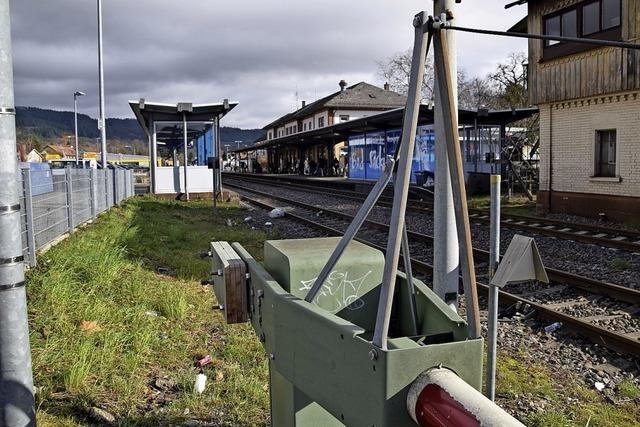 Mit der Eisenbahn von Säckingen nach Schopfheim