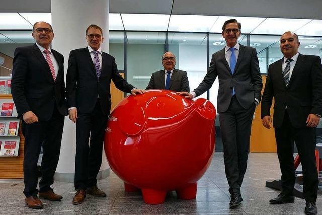 Die Sparkasse ist in Rheinfelden mit der Entwicklung zufrieden