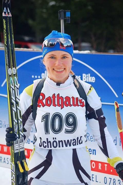 Janina Hettich vor fünf Jahren, als sie zur Junioren-WM nominiert worden war  | Foto: Junkel