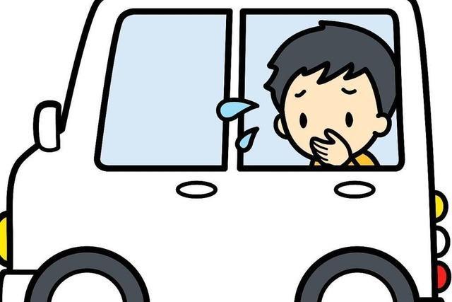 Warum wird einem hinten im Fahrzeug leichter schlecht als vorne?