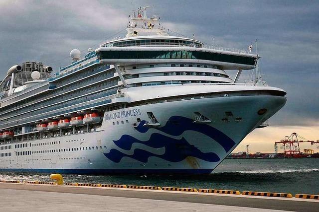 Mehr Coronavirus-Fälle auf Kreuzfahrtschiff Japan