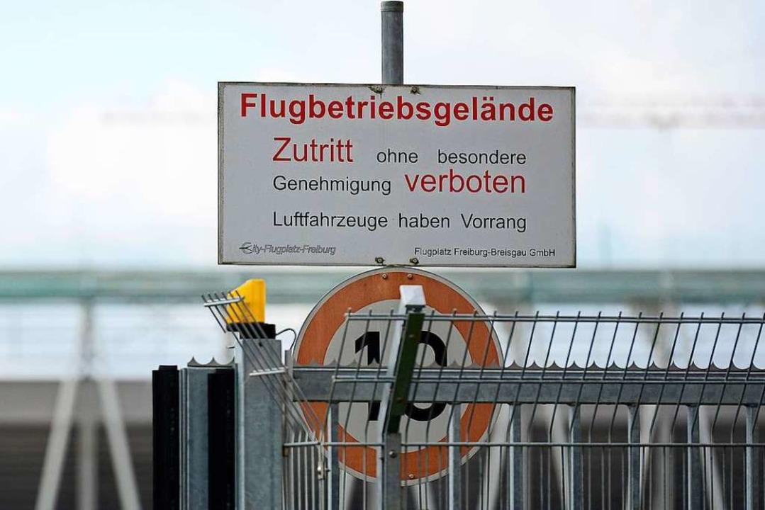 Der Pachtvertrag für den Flugplatz läu... den Fortbestand rechtzeitig anstoßen.  | Foto: Ingo Schneider