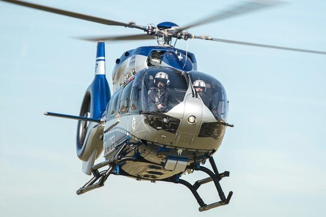 64-Jähriger löst zweimal Suchaktion der Polizei mit Hubschrauber aus