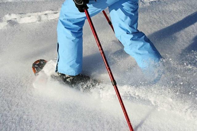 Schneeschuhtour auf den Kandel für Kurzentschlossene