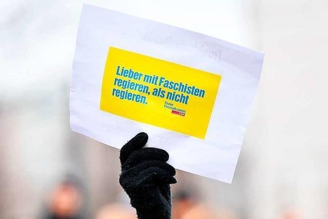Wie Politiker aus Freiburg und Umgebung die Geschehnisse in Thüringen beurteilen