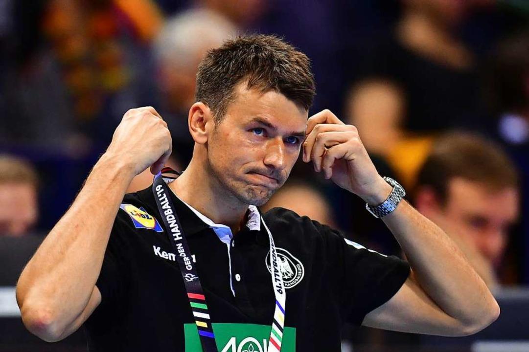 Christian Prokop ist nicht mehr Traine... deutschen Handball-Nationalmannschaft  | Foto: Soeren Stache (dpa)