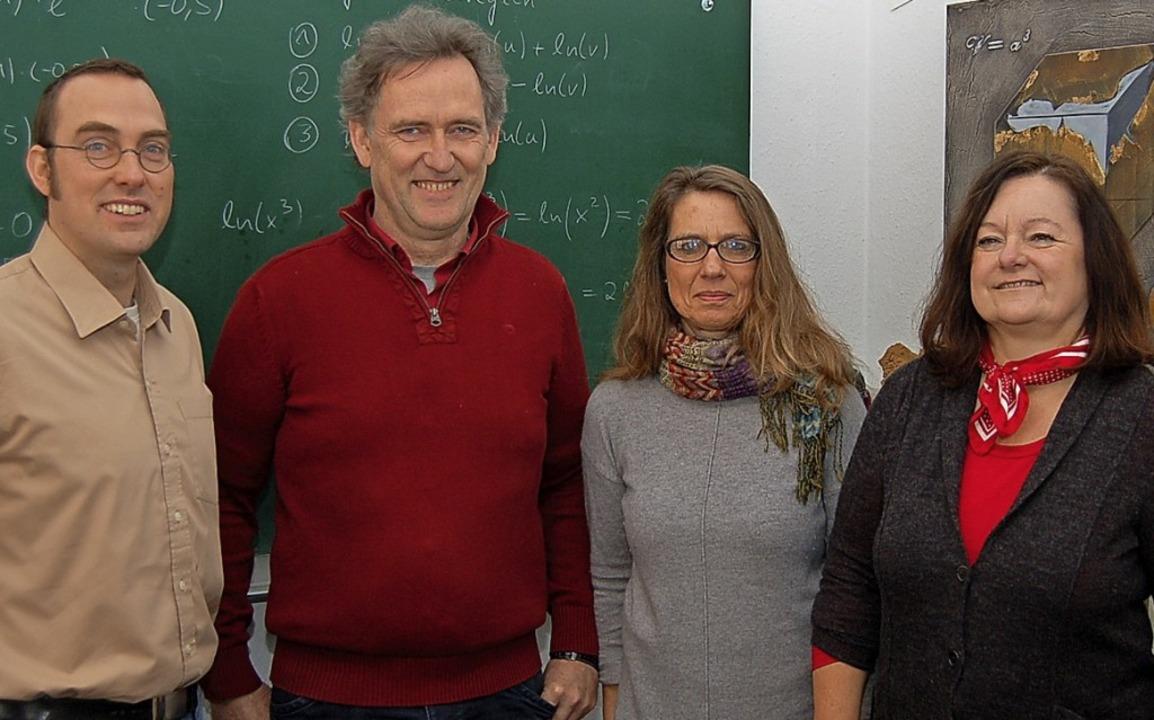 Das Führungsteam vom Lernstudio Möller...ler, Susanne Schröter und Sabine Kretz  | Foto: Christian Ringwald