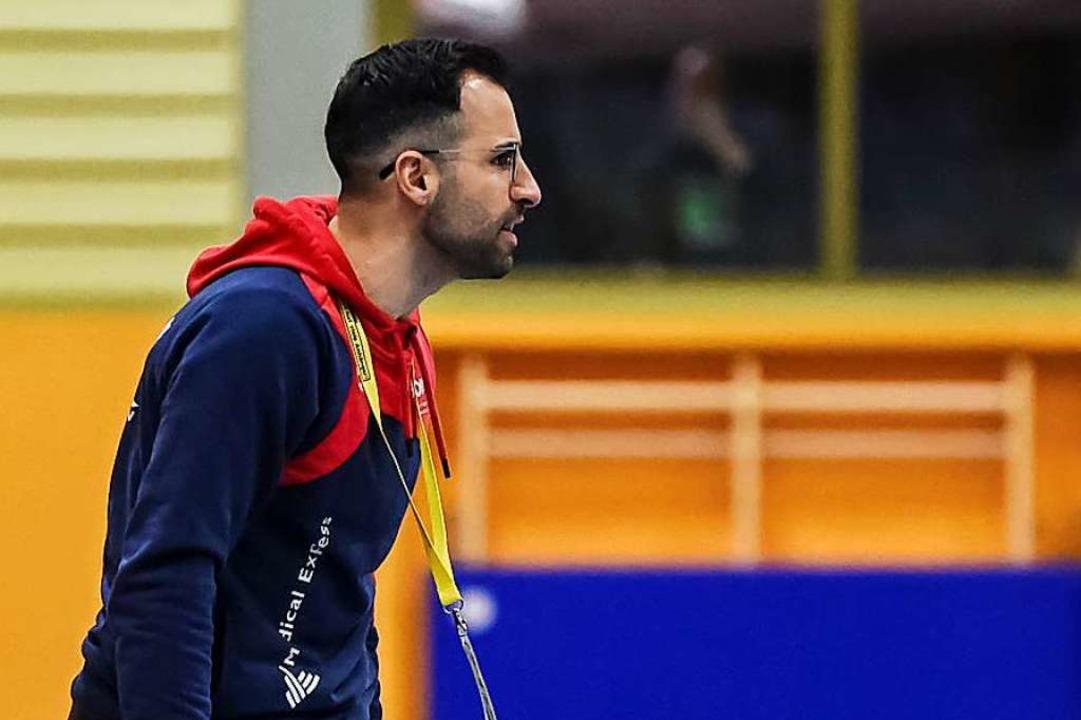 TVT-Coach Marco Suevo   | Foto: Gerd Gruendl