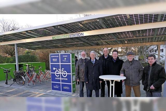 Bestens umsteigen vom Fahrrad in Bus und Bahn