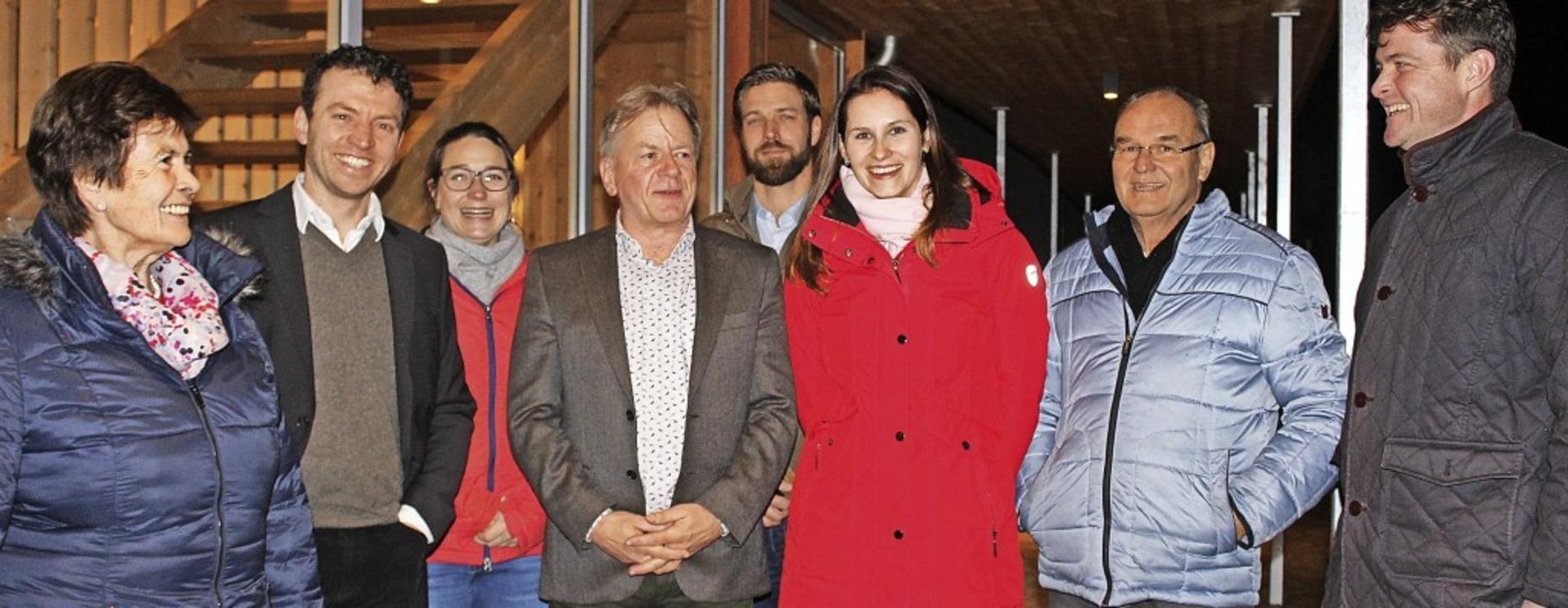 WGU-Aufsichtsrat sowie alter und neuer...renz, Werner Widmann und Klaus Vosberg  | Foto: Erich Krieger