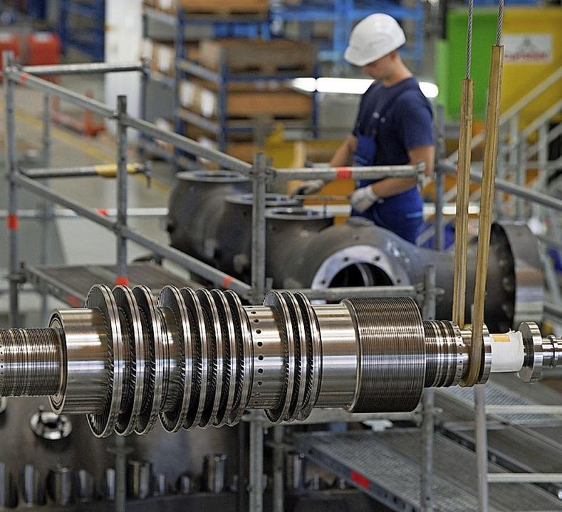 Der deutsche Maschinenbau hat schon bessere Zeiten gesehen.   | Foto: Sebastian Kahnert (dpa)